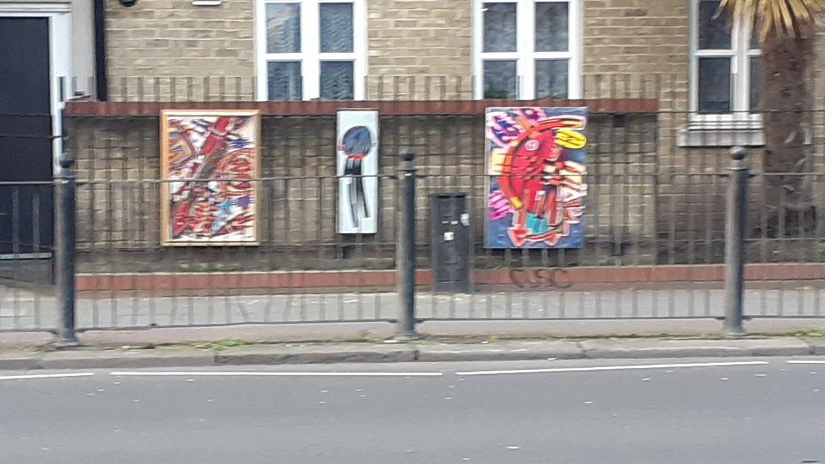 Last Sunday on Hackney Rd. E2  I may consider to do it again this Sunday. #painting #sunday #sundayvibes #artinthestreet.