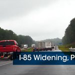 Image for the Tweet beginning: The #85Widening Phase III project