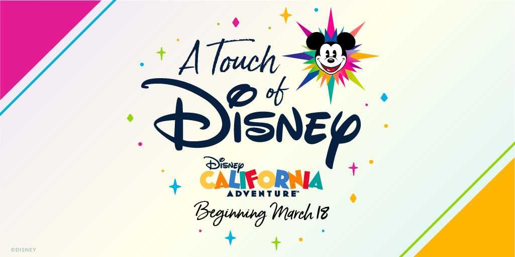 RT @DisneyParks: Exciting news! Experience some of the sights, sounds and flavors of the @Disneyland Resort with A Touch of Disney, a new, limited-capacity ticketed experience that begins March 18 at #DisneyCaliforniaAdventure park: … https://t.co/tl0wW9uvXp