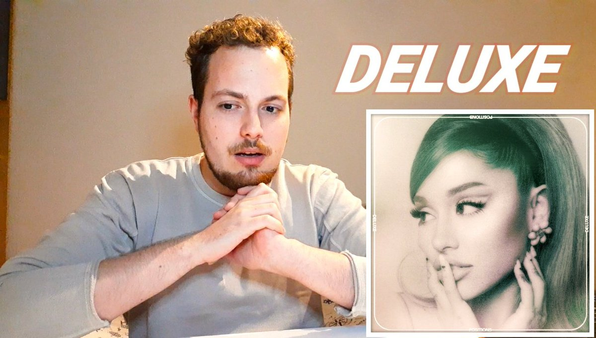 Not me reacting to the new positions deluxe tracks and talking about Ariana Grande's love life online almost a week too late! 🙈🥺🤷🏻‍♂️💫💫  💫💫 #ArianaGrande #PositionsDeluxe #positionsdeluxeselfies #Positions #YouTube #ArianaNews #Arianators #WatchNow