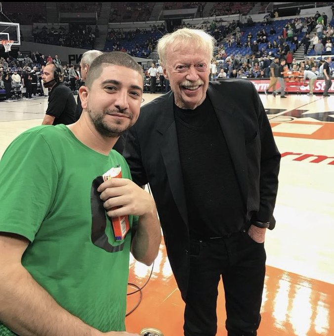 Happy bday to the Court Side legend of them all!  Uncle Phil Knight