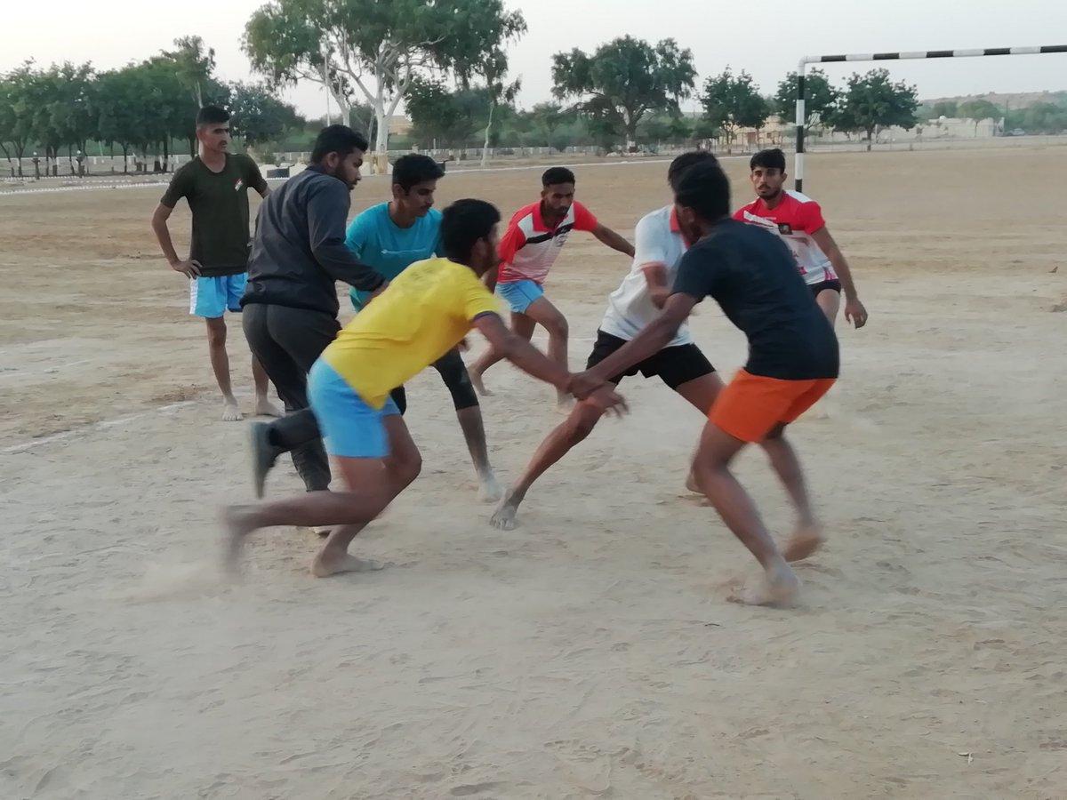 @AshokChandnaINC जी #Jaisalmer में #Kabaddi #Academy की घोषणा करे। @ShaleMohammad_ @ManvendraJasol