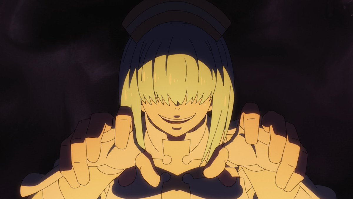 """There's only one way to describe episode 20 of #FireForce   """"HOLY. F**KING. SH*T!!!!!"""" 🔥😱🔥  If there's one episode that blew off the entire roof of the series, ITS MOST DEFINITELY THIS ONE!!!!  B-R-A-V-O!!!!!!!!!  👏🏻👏🏻👏🏻👏🏻👏🏻👏🏻  @FUNimation @KylePhillipsFUN @Aaron__Dismuke"""