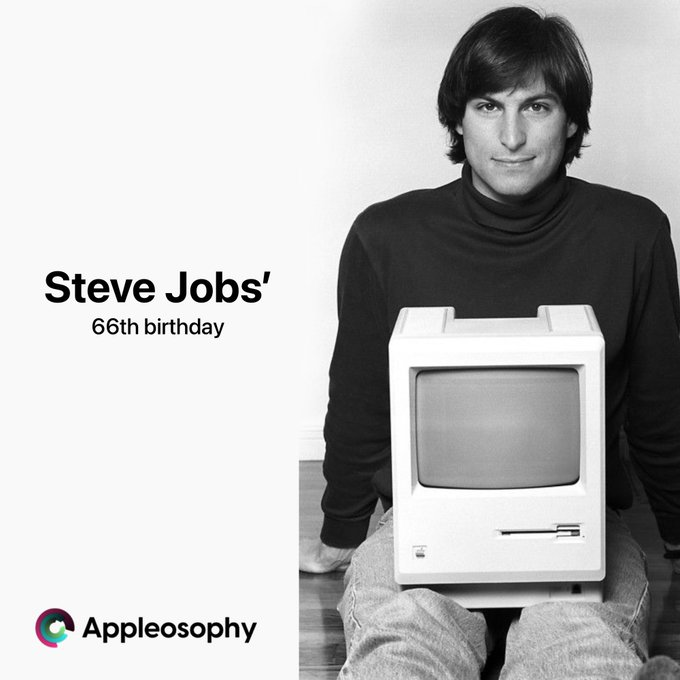 Today would ve been Steve Jobs 66th birthday. Happy Birthday
