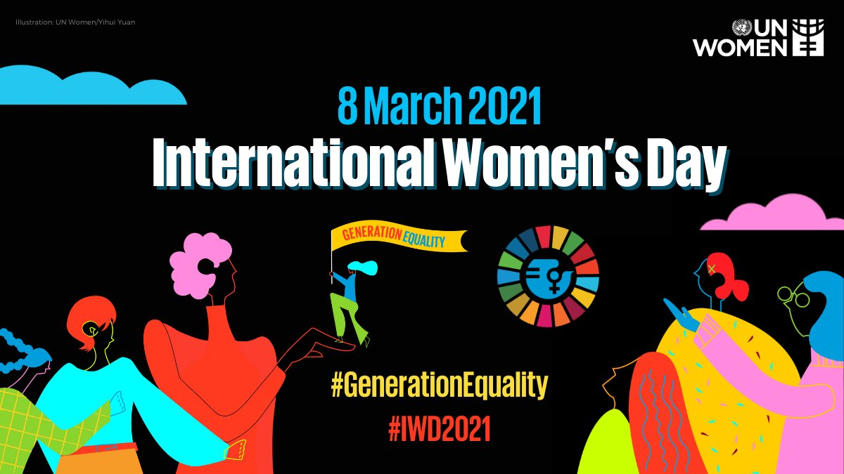 Are you ready for #IWD2021? Join #GenerationEquality on #InternationalWomensDay to celebrate women in leadership who are shaping an equal future and recovery from the #COVID19 pandemic. ⭐️8 March ⭐️10:00 am EST ⭐️Register: unwo.men/tjEQ50DIQDI
