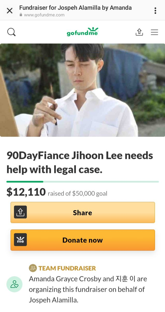#Jihoon #90DayFiance #90DayFianceTheOtherWay #TLC #DiscoveryPlus  #TeamJihoon We passed the 12K Mark! 🙏😢🙌🥳💗 Thanks to All!🥰 Please continue doing all you can do! Though no one is obligated. And even sharing helps!💗