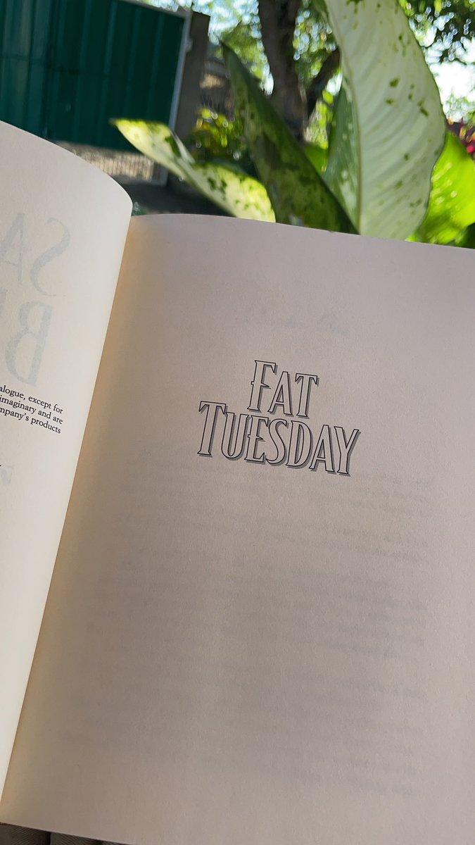 #fattuesday  #readings