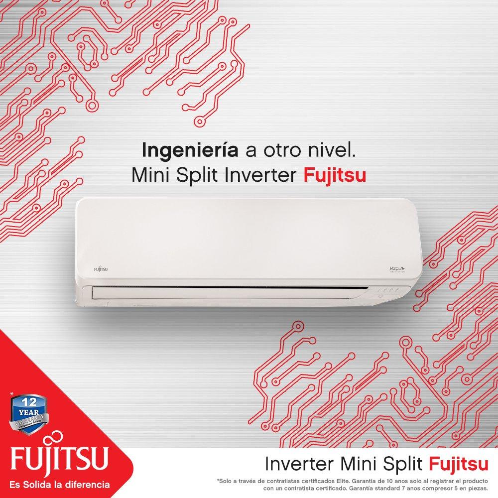 Ingeniería a otro nivel... solo en tu Mini Split Inverter Fujitsu. Oriéntate sobre la calidad y durabilidad de nuestros equipos en    #inverter #minisplit #fujitsu #puertorico