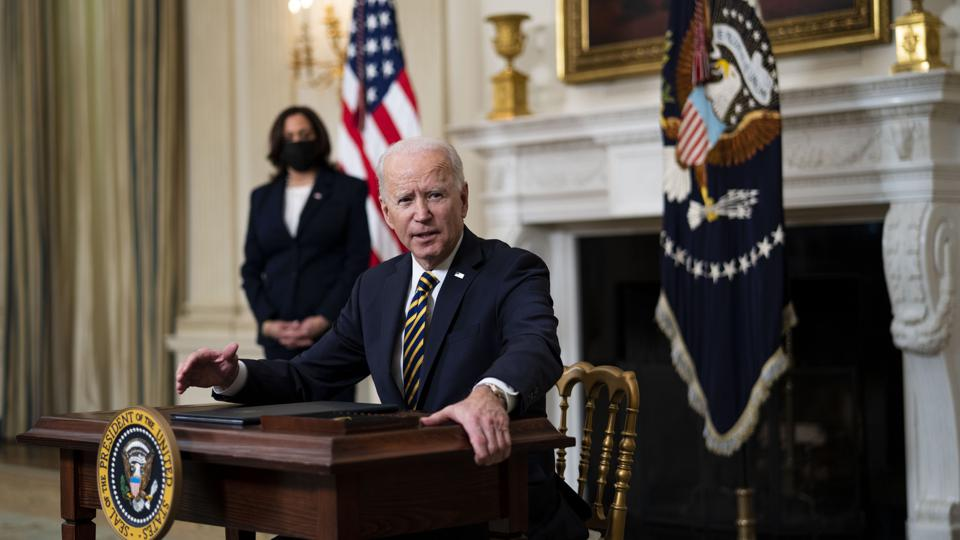 Biden Revokes Trump Orders Including Review Of Funding To 'Anarchist Jurisdictions'
