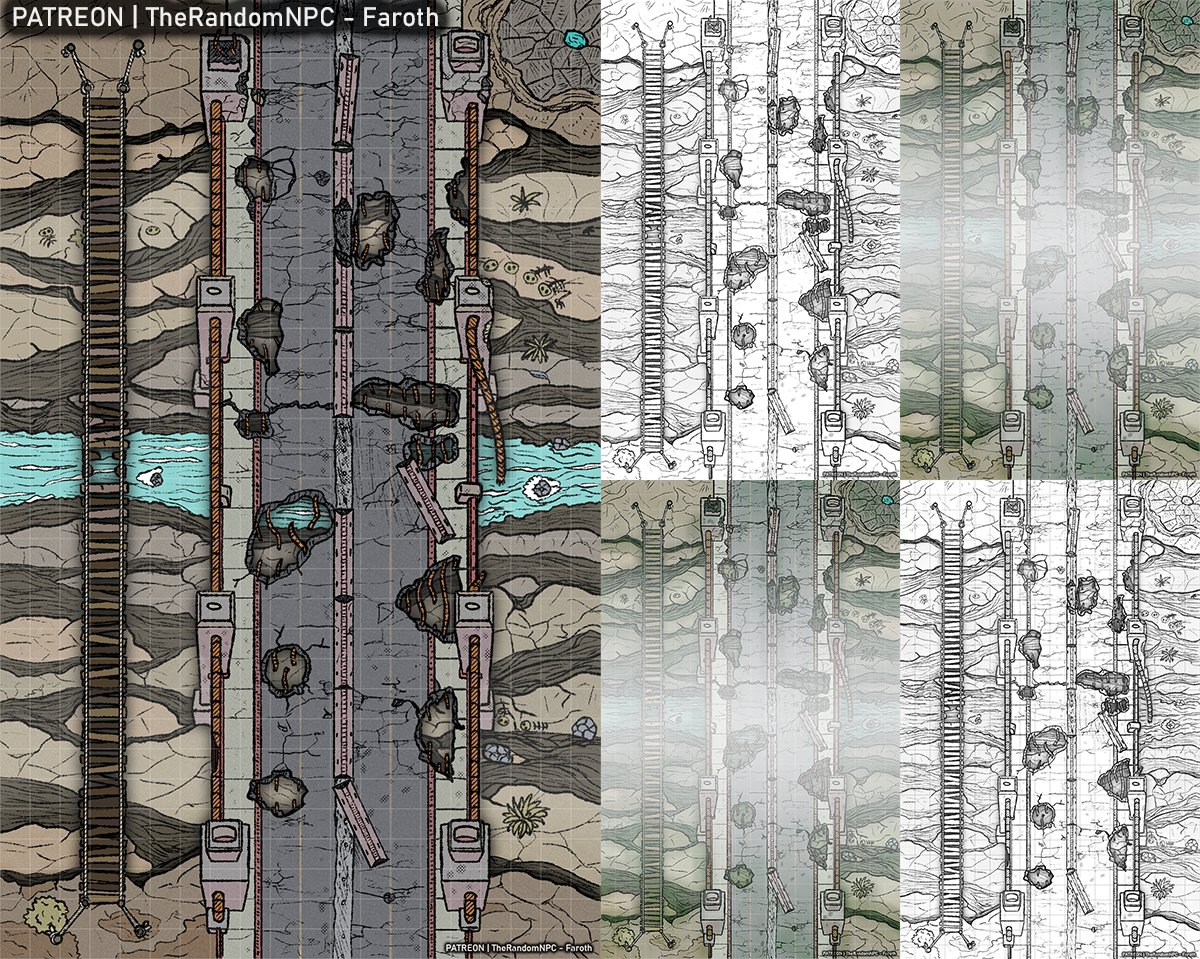 Finished map I add lower quality free version in this post Find it complete in:  #dnd #dnd5e #dndartists #dndmap #ttrpg #ttrpgmap