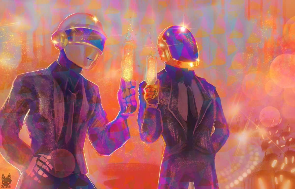 RT @gamibri: Thanks for everything Daft Punk . . . https://t.co/iYLz9ll5sq