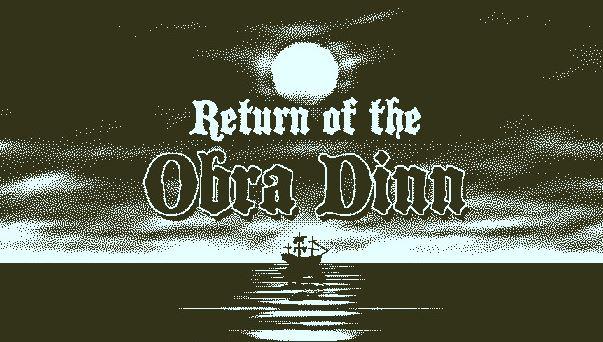 Return of the Obra Dinn (PS4) $14.99 via PSN. 2