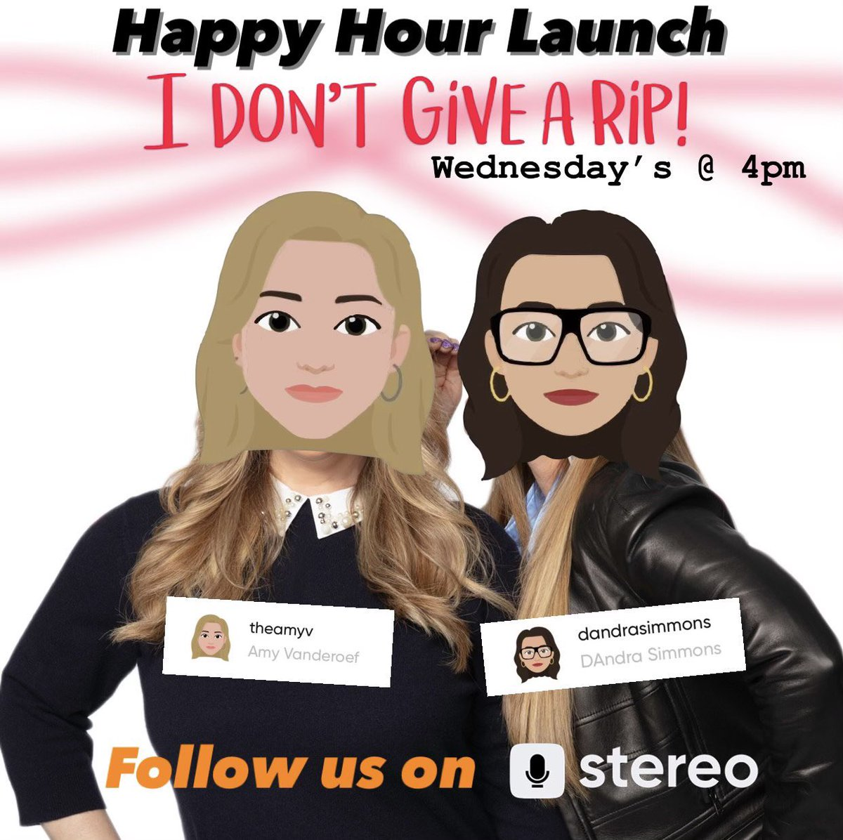 I'm going LIVE on the new app @app_stereo with @AmyVanderoef at 4PM CST! 👀🎤 I'd LOVE to be the first one you follow after downloading! ❤️