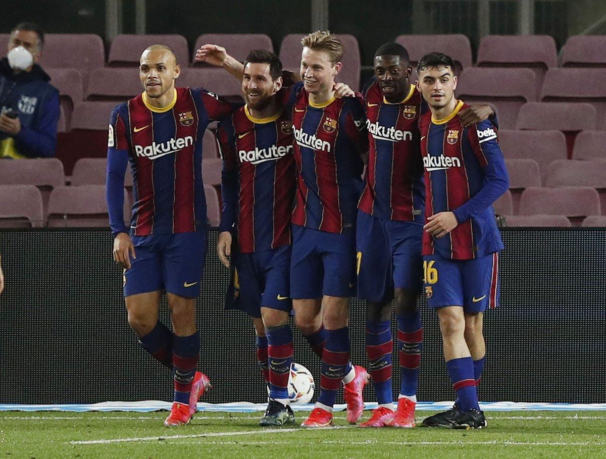 #ميسي يقود @FCBarcelona لفوز ساحق على #التشي 3/0 والصعود للمركز الثالث في جدول ترتيب #الدوري_الاسباني https://t.co/wXd2p6etbW