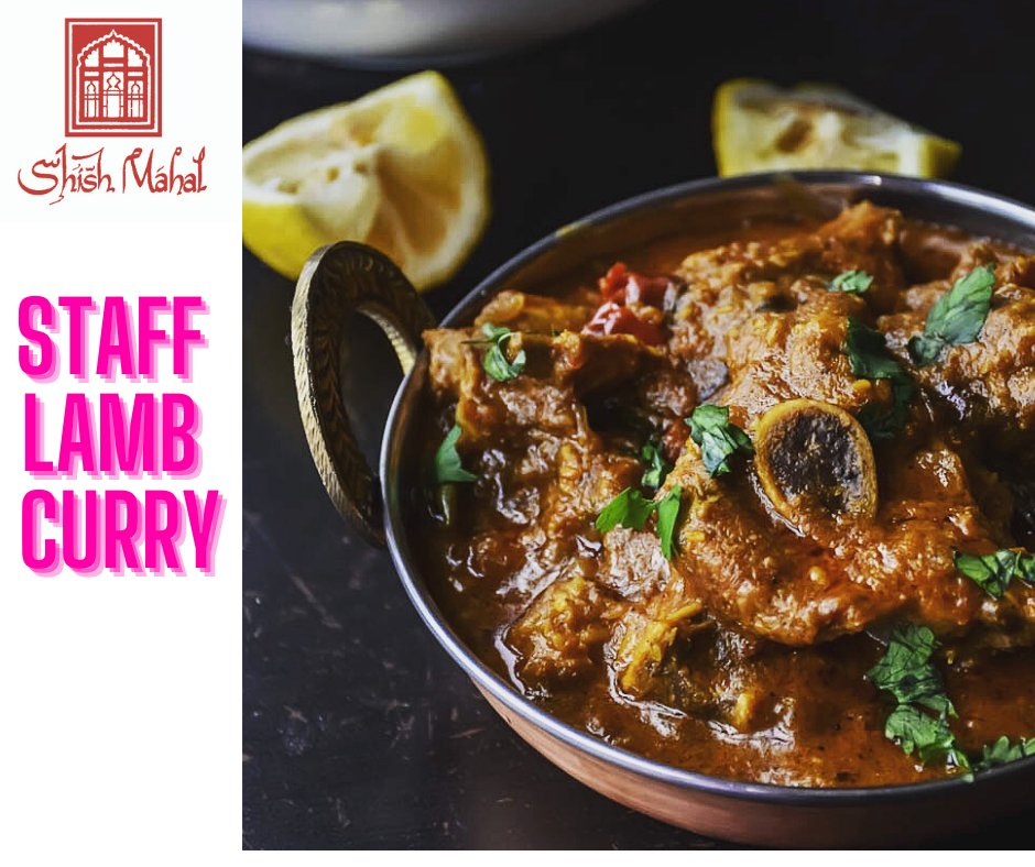 Hey Shish Snobs...The Staff Lamb Curry....one of the best kept secrets...wonder why😀  🤐   🔒.   only for staff and shish snobs #shishmahal #shishsnobs #lambcurry #staff https://t.co/idjHqpONuF