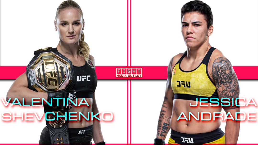 🚨 BREAKING: Valentina Shevchenko (@BulletValentina) v.s Jessica Andrade (@jessicammapro) for the Flyweight Title set for April 24!!     #UFC #UFC259 #MMATwitter #ESPNPlus #ESPN