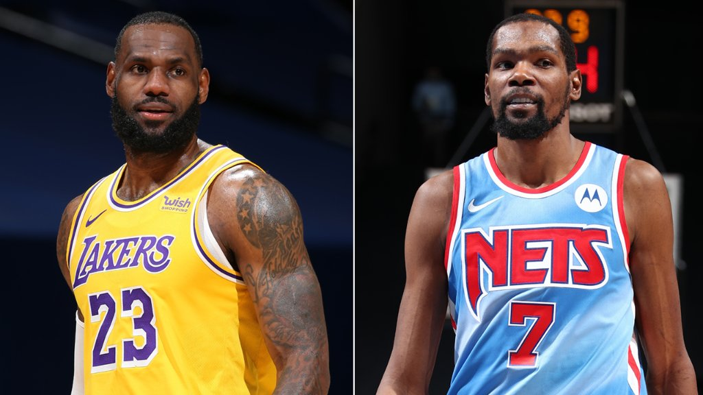A Clash of Powerhouses ⚔️  Lakers-Nets. April 10 at 8:30 PM ET on ABC 🔥