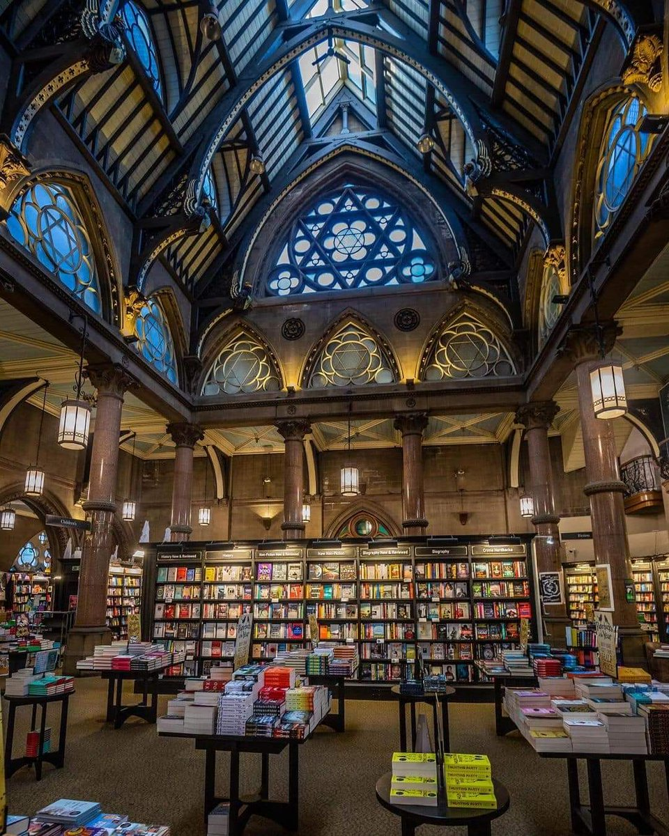 When we can visit a real , beautiful , hands on bookshop again!!! The need is real.....📚❤📚  @WaterstonesBD1 #books #booklover #bookworm #booktwitter