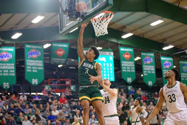 """""""When things don't go your way, can you reset and battle back?"""" """"Seeing how @_BigshotManny_'s game has elevated, people have to respect him."""" """"We have to continue to get better."""" — On @SienaMBB's timely resurgence entering the #MAACHoops stretch run: dalydoseofhoops.blogspot.com/2021/02/as-str…"""
