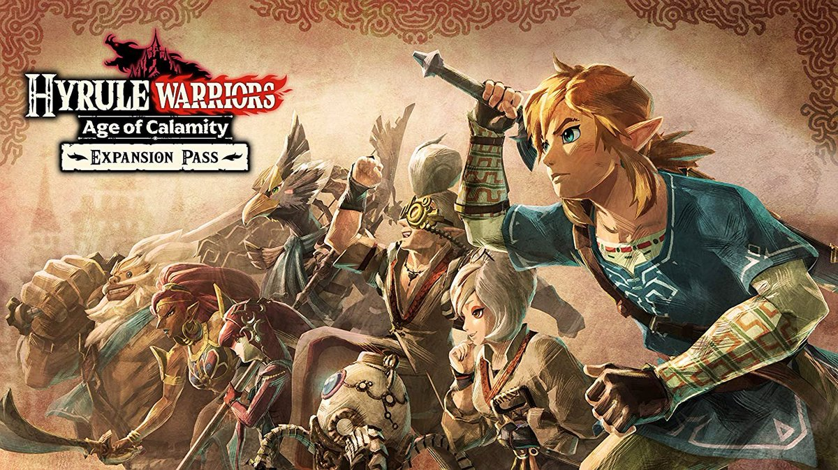 Hyrule Warriors: Age of Calamity Expansion Pass pre-order on Amazon: 2 $19.99 releases May 28
