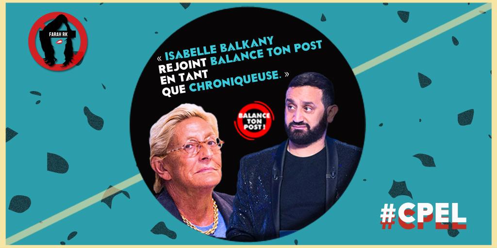 📷#ImageDuSoir / @Cyrilhanouna a annoncé qu' @ibalkany rejoindrait les rangs de #BTP : qu'en pensez vous ? 👍👎  #CPEL #BalanceTonPost