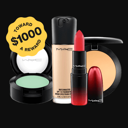Are you tired of having to spend #money on #cosmetics every month? Take advantage of this opportunity to #win $1000 Worth of MAC Cosmetics. #GiveAway  #makeupartist #makeup  #kardashiankloset #USA   #NewYorkForever  #LosAngeles #makeupgiveaway