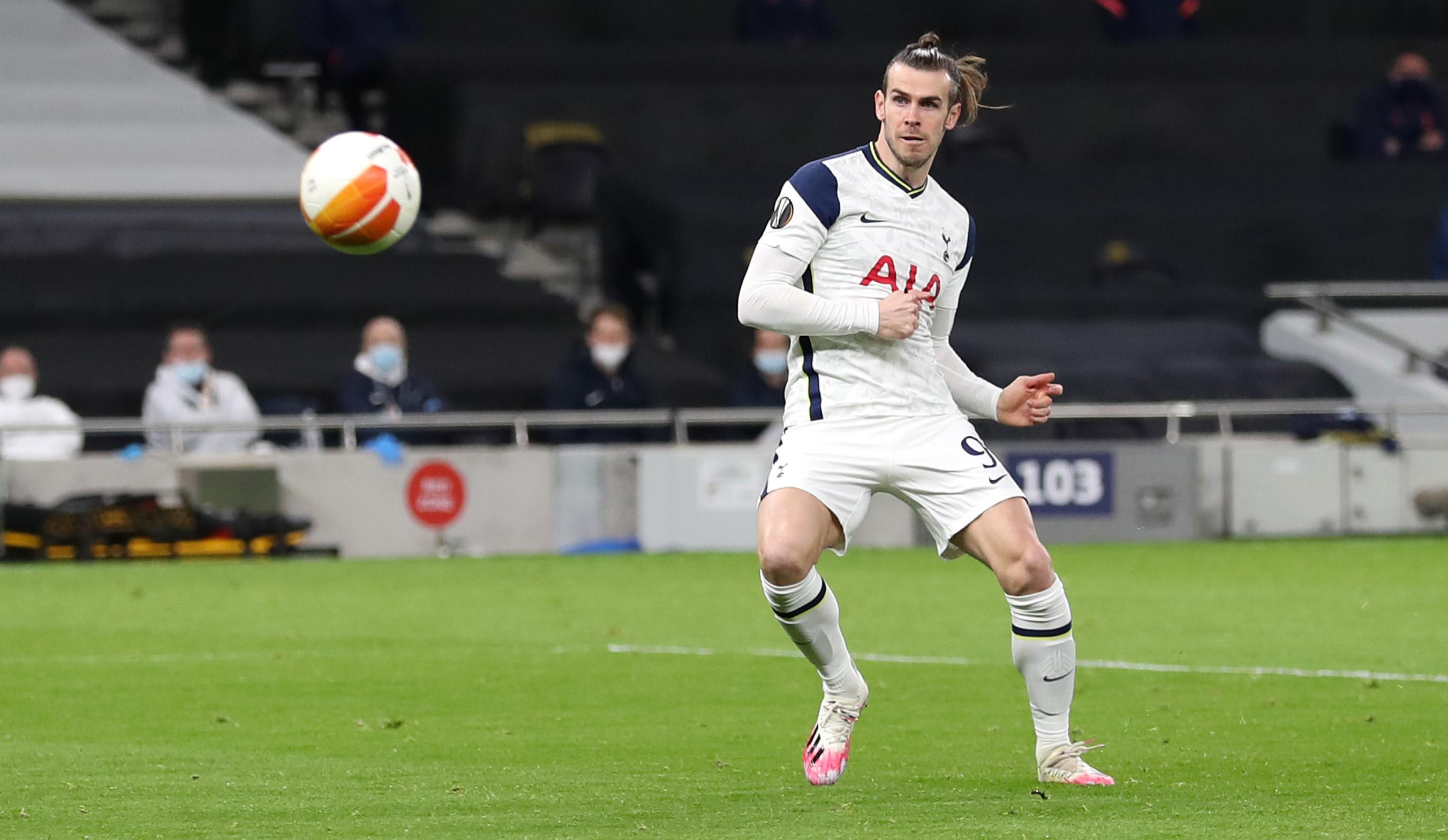 Gareth Bale scores against Wolfsberger AC