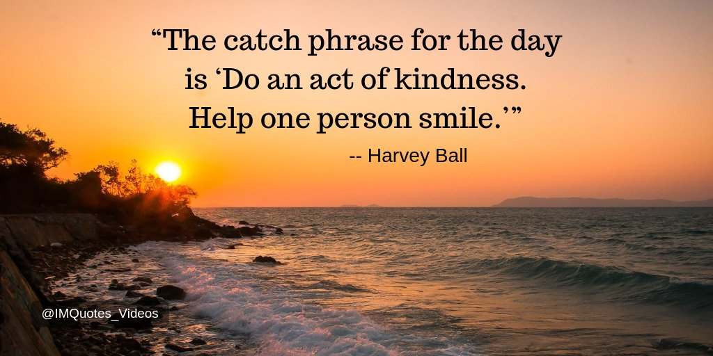Replying to @IMQuotes_Videos: Make an effort to spread encouragement, positivity, and happiness to at least one person today. #Quotes