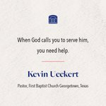 Image for the Tweet beginning: .@kevinueckert, preaching today in #SWBTSChapel