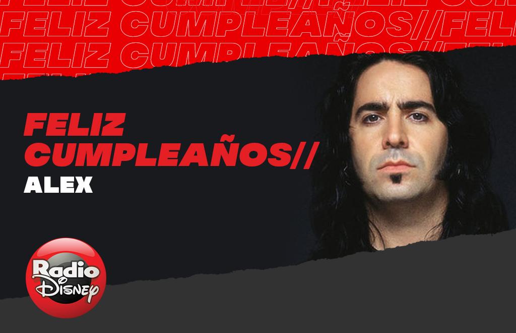 Celebramos el cumpleaños de @alexelanimal, baterista de @manaoficial 🎊 🎉 🎵