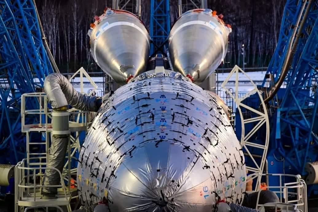 Soyouz-2.1b (Arktika-M n°1) - Baï - 28.2.2021 EvBUTXyWYAUMM8p?format=jpg&name=medium