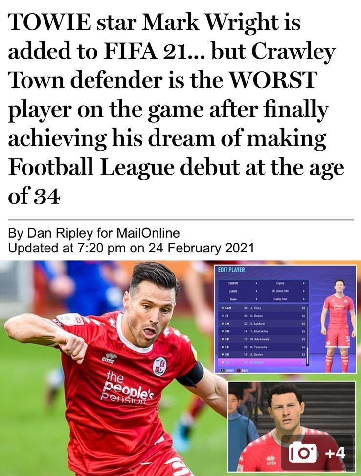 Replying to @MarkWright_: RUDE - I'm switching back to Pro Evo 🤣😂