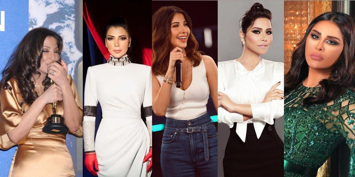 Most-watched female artists of February 2021 in MENA:  #1. Elissa — 55.4 million 👑 #2. Assala — 50 million #3. Nancy Ajram — 48.2 million #4. Sherine — 39.8 million #5 Ahlam — 30 million  YouTube Charts ©