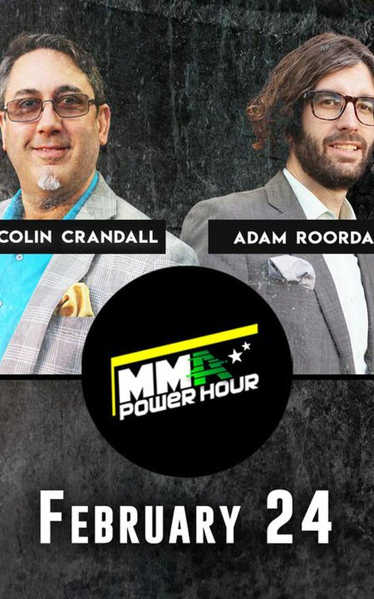 There is no more power than in tonight's episode of @mmapowerhour   At 9pm ET, #FeelThePower with a jam-packed show. 3 #UFC stars, @karatehottiemma, @thehanyakdj, @CollinAnglinMMA, and former UFC star and current ref, @FRANKTRIGG   FREE on #FITE   Live  👊