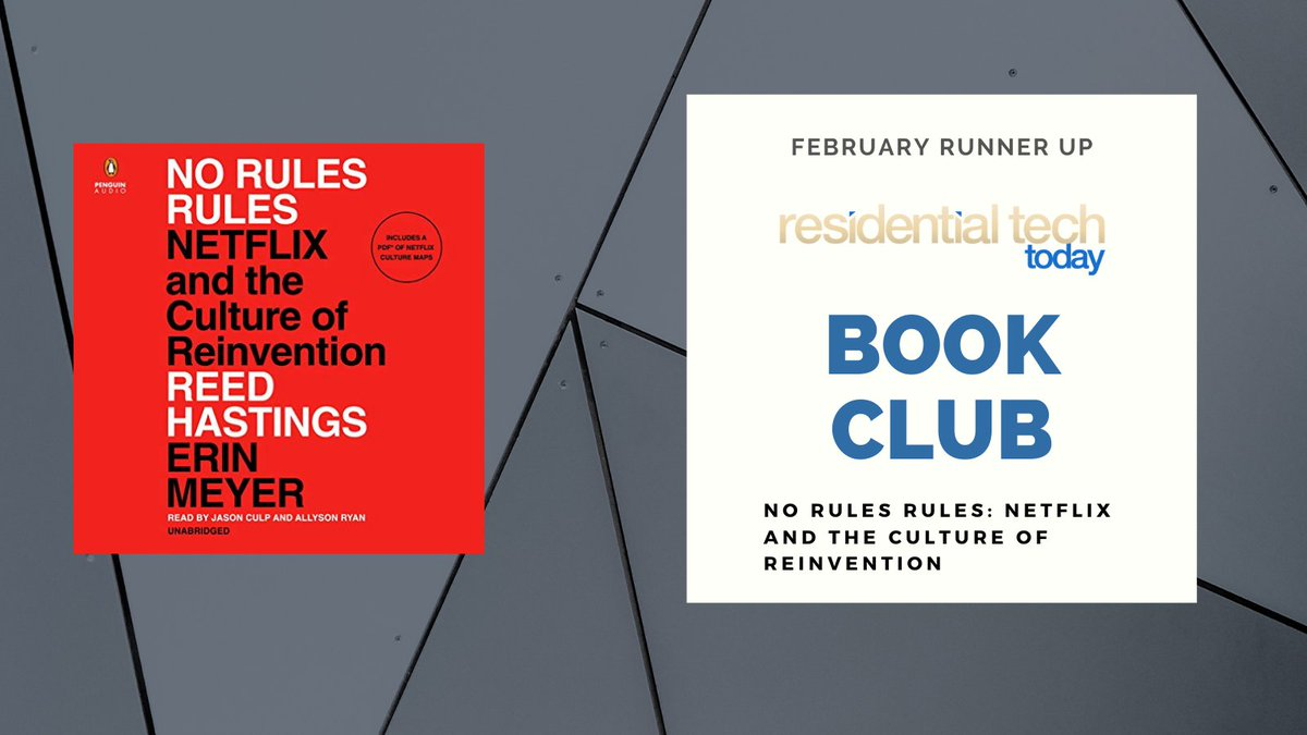 #BookClub Reed Hastings and Erin Meyer's No Rules Rules: Netflix and the Culture of Reinvention gives readers an inside look at the wonderful, wild world behind the scenes of Netflix with #NoFilter. #netflix #behindthescenes #entertainment #streaming #tech #device #ResTech