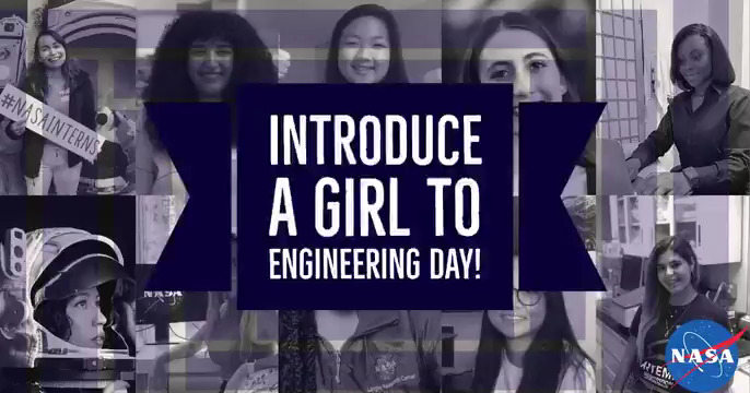 When you picture an engineer, who do you see?🤔  For #IntroduceAGirlToEngineeringDay, get a new perspective from @SpaceKrisBrown, @FromCaliToMars & @NASAInterns! From landing a rover on Mars to modeling aircraft propulsion systems, this is what an engineer looks like. 👩🏻‍🔧👩🏾‍💻👩🏽‍💼👷🏼‍♀️👩🏿‍🎓