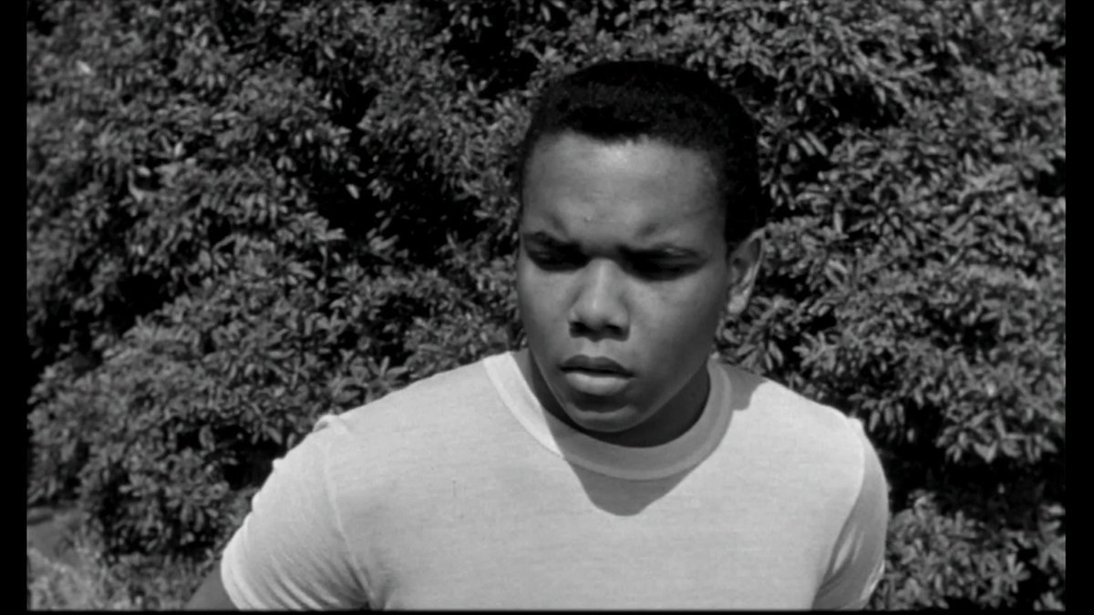 TAKE A GIANT STEP ('59) is a coming-of-age drama that was produced right on the cusp of the turbulent sixties. It stars pop singer Johnny Nash in the leading role of Spence.  @DonaldBogle1 presents this film at 8pm ET during our spotlight Noteworthy African American Performances.