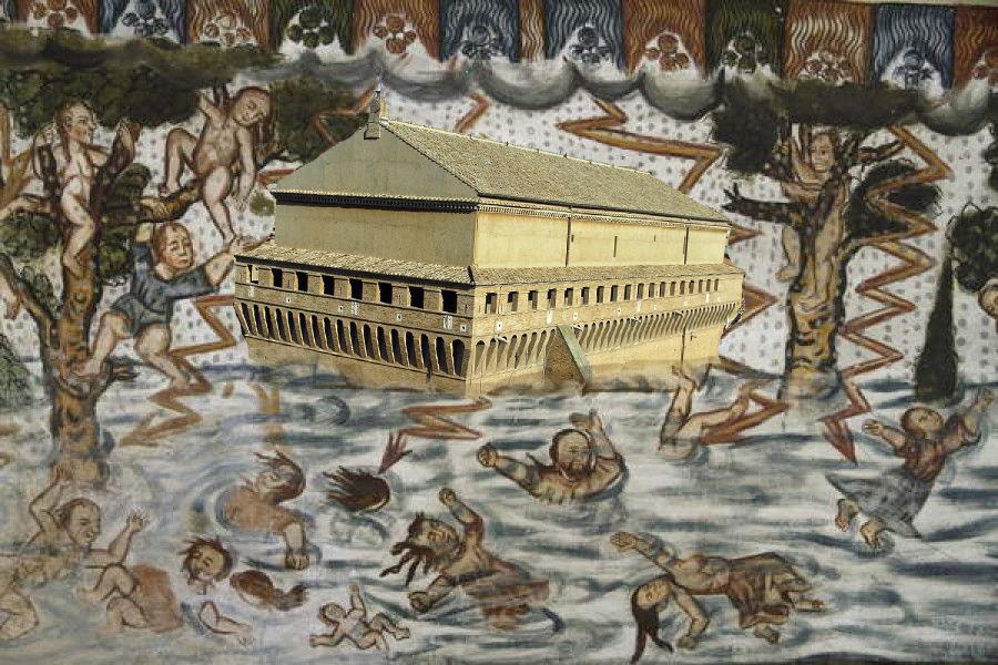 """El arca de """"Sixto"""" #ArcadeNoé #CapillaSixtina #FrescosdeCurahuara"""