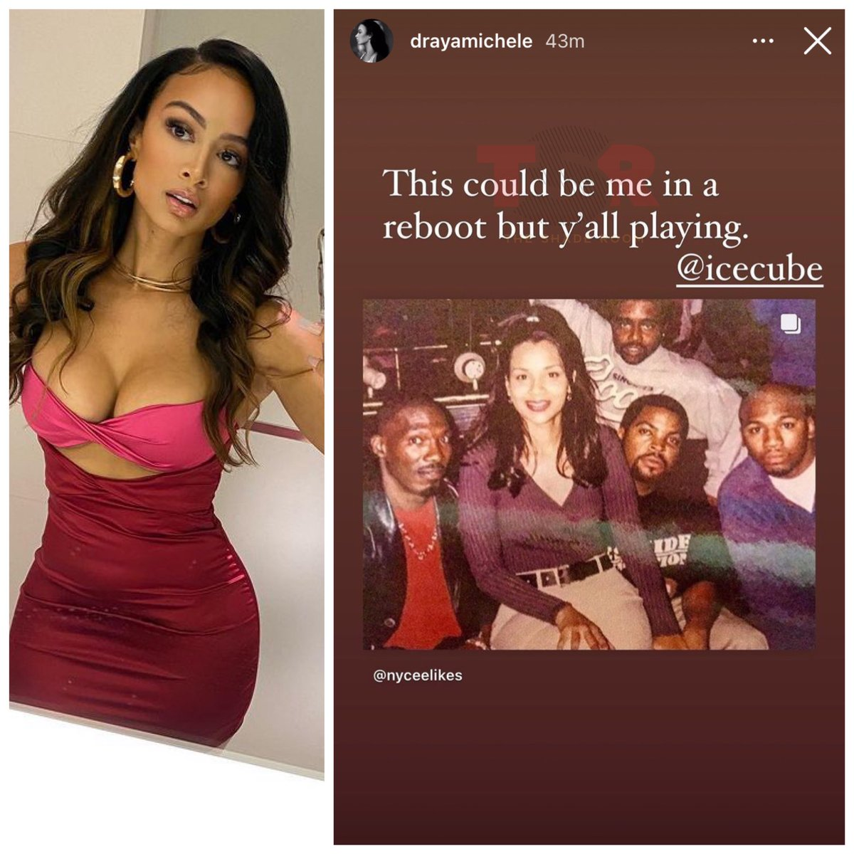 Can y'all see Draya as Diamond in a Players Club remake?🤔
