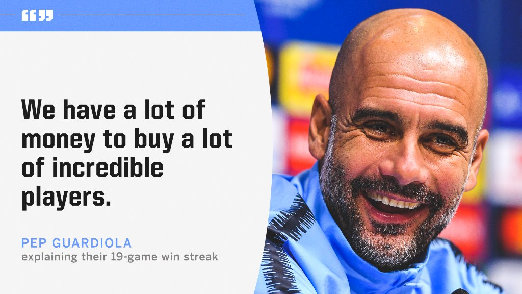 Pep keeping it 💯