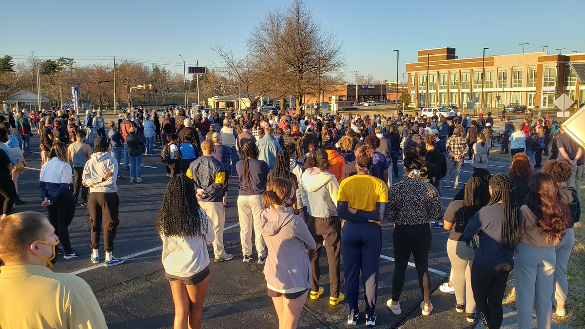 Don't let the outside noise fool you - there is plenty of support for @ETSU_MBB   #StrongerTogether #BlackLivesMatter