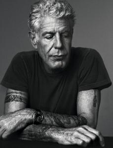 "@JohnCleese ""I have a tattoo on my arm that says, in ancient Greek, 'I am certain of nothing.' I think that's a good operating principle.""  - Anthony Bourdain"