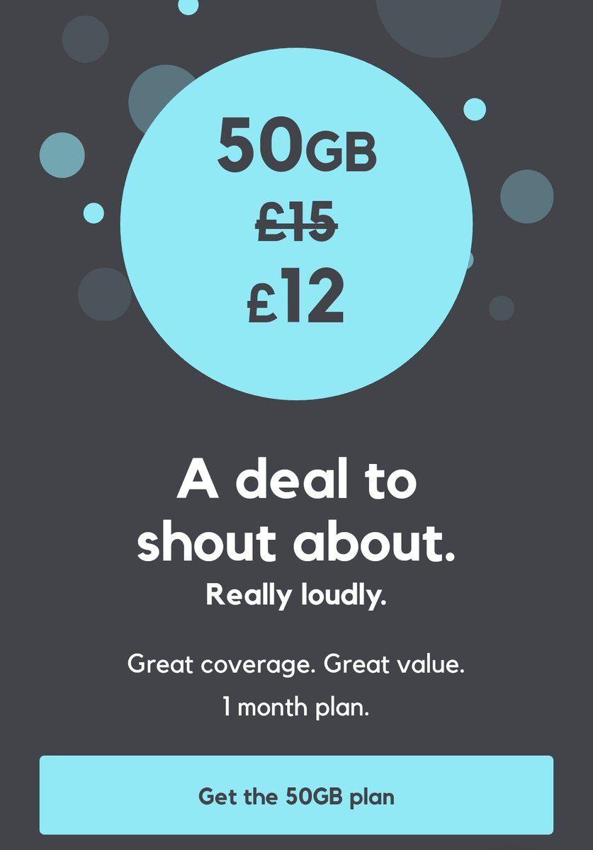 Don't miss your chance to bag 50GB for just £12 a month on a 1-month contract. {}  #simplans #nocontract #smarty #simonly #dealoftheday #weekendvibes #SaturdayVibes #sundaylive #england #wales #scotland #ireland #4G #3G