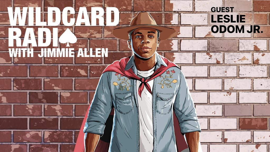 .@leslieodomjr and @JimmieAllen talk shop on a new #WildcardRadio.  Listen on Apple Music Country: