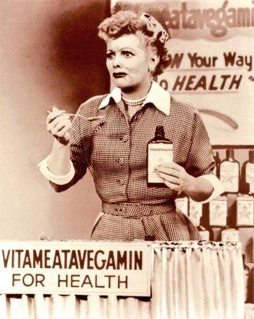 #MyPandemicFitnessRegimen Taking my Vitameatavegamin everyday for good health