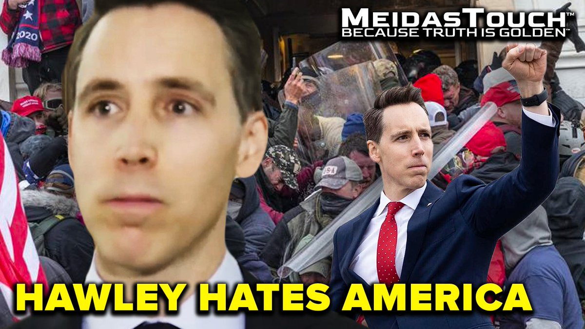 It looks like #HawleyHatesAmerica has been removed from the top trends in an effort to suppress this view count. Smash the RT button and let's get this to a million views  tonight!