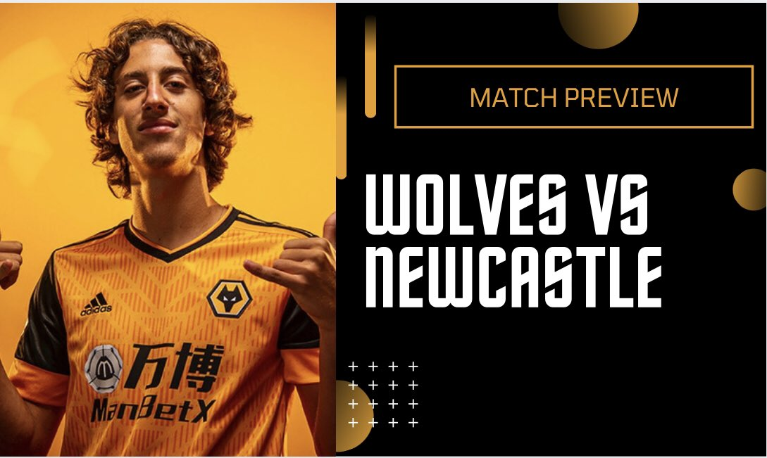 Click here to watch my match preview 👉 … @Wolves 🟠⚫️ Vs @NUFC ⚽️ Likes and Shares much appreciated 👍  @Young_Wolves - I'm a 13 Year Old Wolves fan who loves making videos on my channel, would love it if you could check this out 👍 #WWFC #PL #Wolves