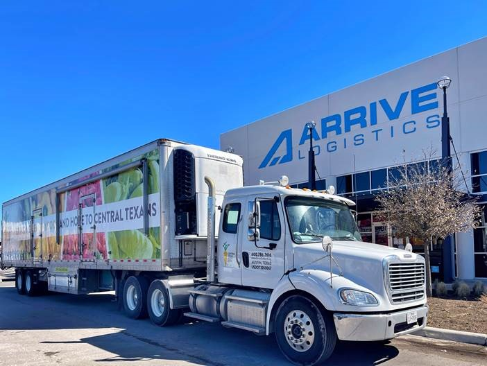 Our neighbors down the street, @ArriveLogistics, immediately reached out to us about helping our community after the snowstorm. They quickly secured water from their partner and our driver was able to pick up a truckload of water. Thank you, Arrive Logistics!