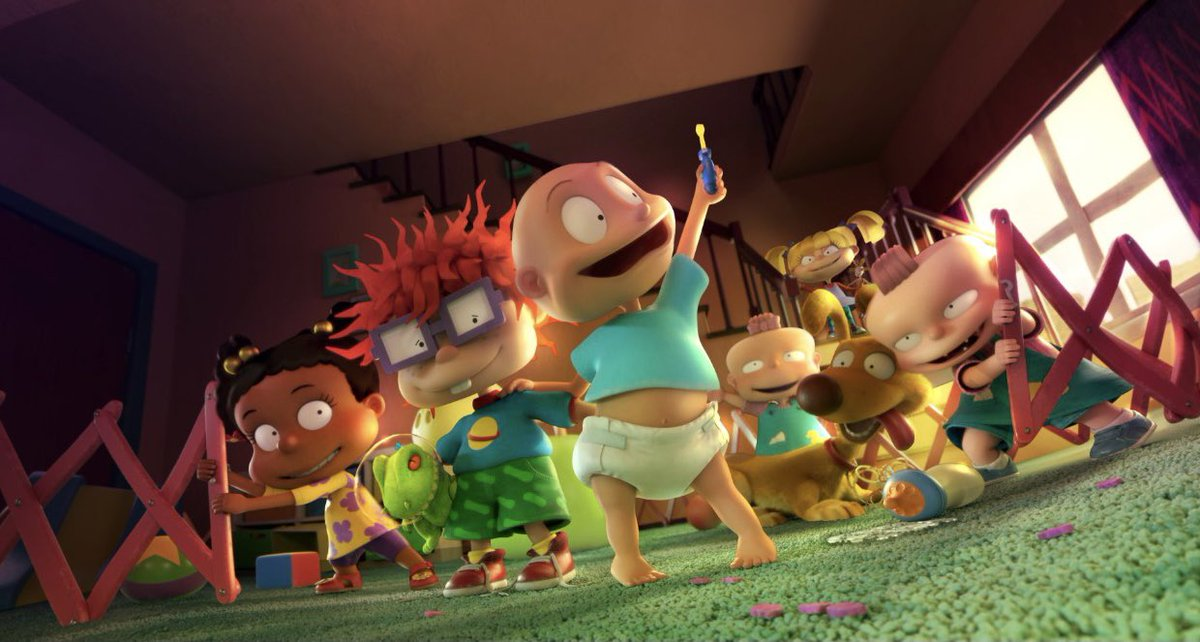 The first look at the CG-animated 'RUGRATS' revival.  It will release on Paramount+ later this year.