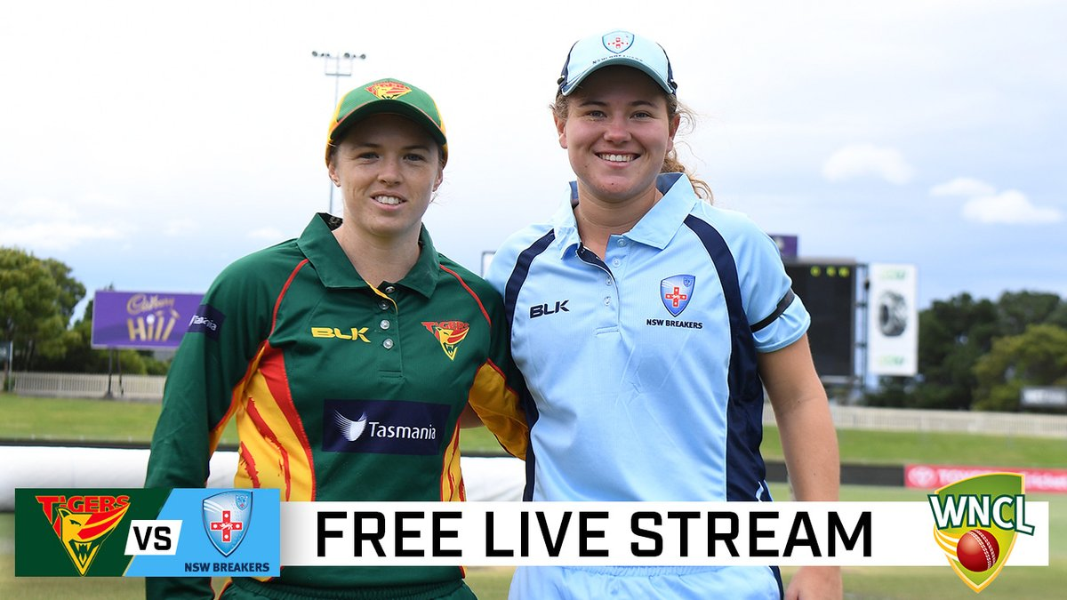 One of our newest squad members Hannah Darlington is captaining the @NSWBreakers against Tassie today!  Plenty of Aussies in action, tune in here:  #WNCL